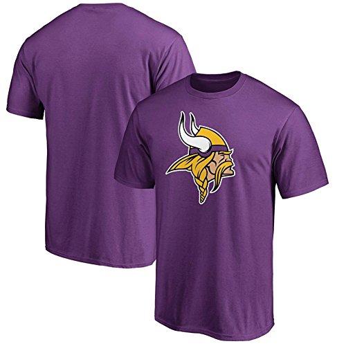 (Minnesota Vikings Purple Youth Primary Logo Performance T Shirt (Medium 10/12) )