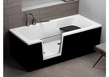 Vasca Da Bagno Nera : Vovo senior vasca da bagno nero 160 cm x 75 cm: amazon.it: fai da te