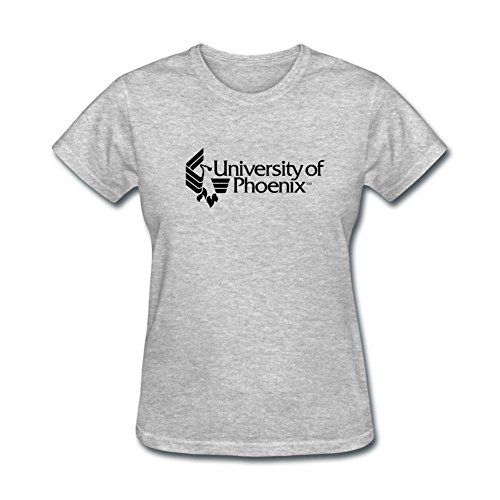 XIULUAN Women's University Of Phoenix Logo UOPX T-shirt Size XL ColorName Short Sleeve (Lisa Und Lena-shop)