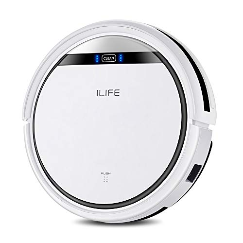 ILIFE V3s Pro Robot Vacuum Cleaner, Tangle-free Suction , Slim, Automatic Self-Charging Robotic Vacuum Cleaner, Daily…