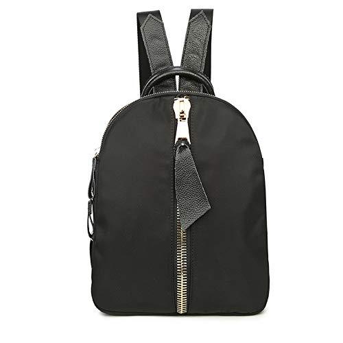 Borsa Da Scuola Per College Moda Femminile Zaino Da Viaggio Durevole Impermeabile PU Daypack Black
