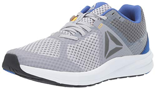(Reebok Men's Endless Road Running Shoe, Cold Grey/Crushed Cobalt/Solar Gold/White/Shadow, 11 M US)