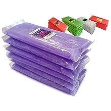 Boston Tech BE-106l - Cera de parafina con aroma a Lavanda para tratamiento de manos y pies. Tratamiento para artritis y dolores musculares. Paquete de 6 bloques. …