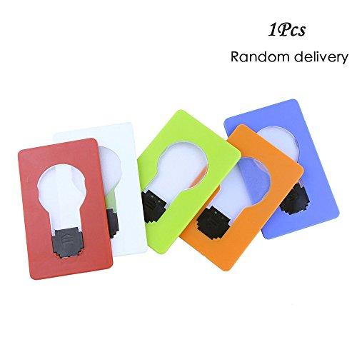 Funny Led Pocket Card Wallet Light - 8