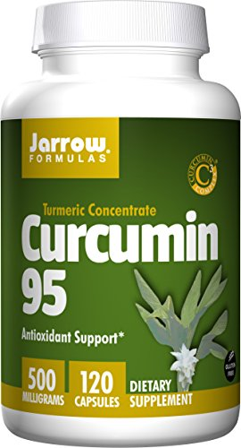 Jarrow Formulas Curcumin 95, 500 Mg, 120 Count X 2
