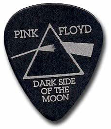pink floyd dark side of the moon official guitar pick musical instruments. Black Bedroom Furniture Sets. Home Design Ideas
