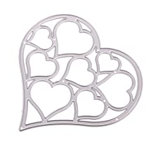 MagiDeal Love Heart Shape Metal Cutting Die Cuts Stencil Scrapbooking Paper Card Embossing Crafts