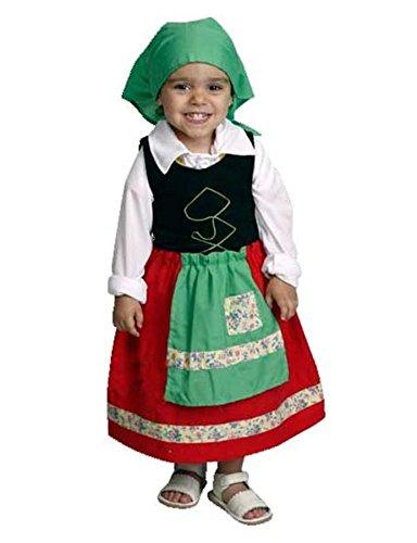 Disfraz de pastora rojo para niña: Amazon.es: Juguetes y juegos