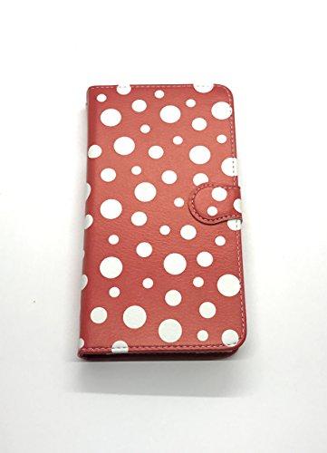 草間彌生 展「わが永遠の魂」 限定 水玉 ドット柄 スマートフォンケース 赤白