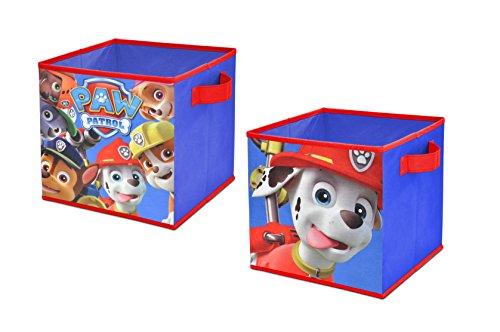 "Nickelodeon Paw Patrol Storage Cubes (2 Pack), 10"" Toy"