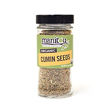 Amazon com : Organic Cumin Seed, 6 / 1 5 Oz Glass Jar Case : Grocery