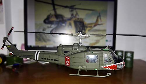 Easy Model U.S. Army UH-1 Shark 1/18 Huey Finished Helicopter Limited Edition