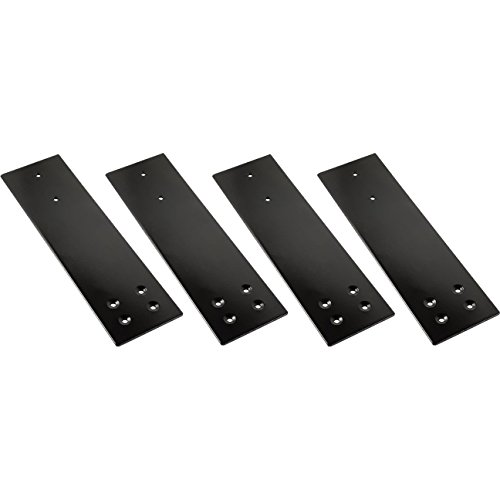 Fastcap - 3-1/2'' x 12'' Speedbrace for Granite Counter-top Support, 300 Pound Load Capacity, Black , 4-Pack - 08176 by Fastcap