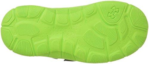 Under ArmourBoys Engage 3 Adjustable Closure Shoes - Engage 3 Para Bebés Varones, Cierre Ajustable Niños, Unisex Graphite/Hyper Green/Black