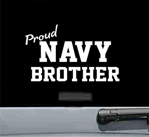 Proud army navy brother vinyl decal - Car Dodge Brothers