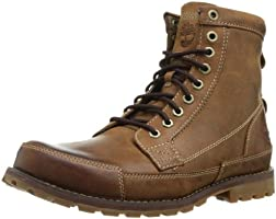 Timberland Men's EK Original 6in Fashion Boots, Red Brown Burnished, 10 M US