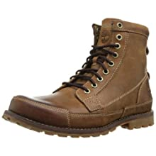 """Timberland Men's Earthkeepers 6"""" Lace-Up Boot, Burnished Brown, 9.5 M US"""