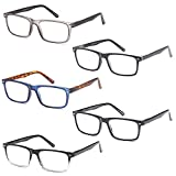 GAMMA RAY READERS Multiple Pairs of Stylish Readers with Quality Spring Hinge Reading Glasses