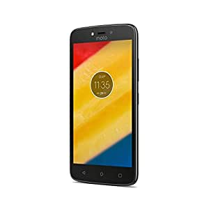 Motorola Moto C XT1757 Dual SIM 4G LTE 16GB 5.0 Android Factory Unlocked Smartphone - International Version (Gray)