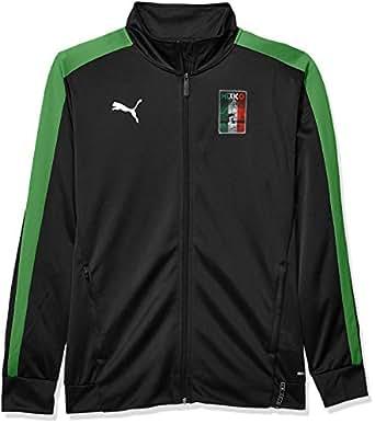 PUMA Men's Copa America T7 Jacket, Puma Black/Amazon Green, S