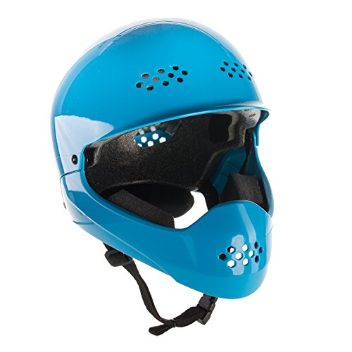 Bell-Shield-Full-Face-Childrens-Bike-Helmet-Cyan
