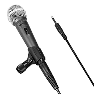 AmazonBasics Dynamic Vocal Microphone – Car...