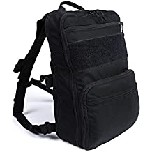 'Haley Strategic Partners D3 Flatpack Plus with Chest Strap Backpack Assault Pack Black