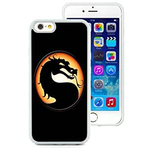 Fashionable and DIY Phone Case Design with Mortal Kombat iPhone 6 4.7inch TPU case Wallpaper in White