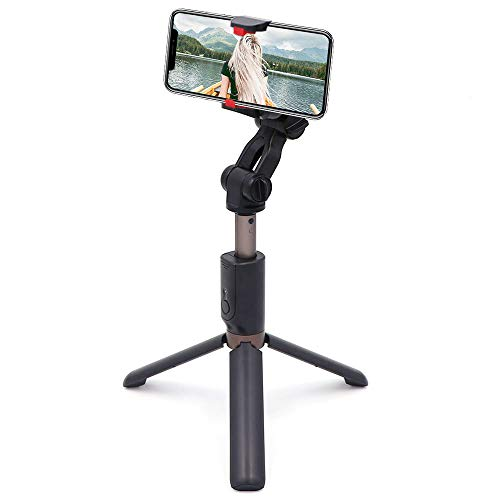 Handheld Gimbal Stabilizer Tripod for Smartphone,Beasyjoy Cell Phone Selfie Stick Stabilizer with Built-in Bluetooth Remote for iPhone X / 8/8 Plus / 7/7 Plus / 6 / 6S / 6 Plus,Galaxy S9 and More