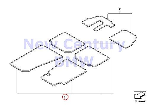 BMW Genuine Floor Mat Set Floormat Z3 Anth. Solid Z3 1.9 Z3