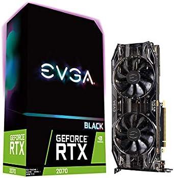 EVGA GeForce RTX 2070 XC BLACK EDITION GAMING Graphics Card