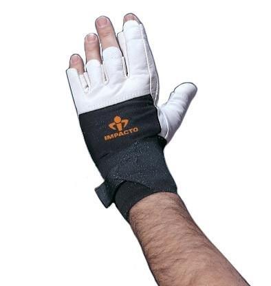 Impacto Ergonomic Anti-Impact Glove with Wrist Support - Single Glove - Large - Right