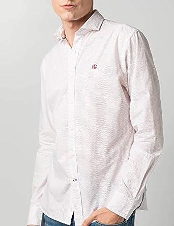 El Ganso 1050S190069 Camisa casual, Blanco (Blanco 0069), XL para Hombre: Amazon.es: Ropa y accesorios