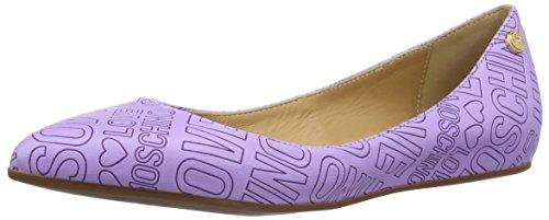 Love Moschino Scarpe con Tacco Donna Viola (Purple 651)
