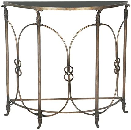 Sterling Home F-BORDEAUX DEMI accent table, Silver