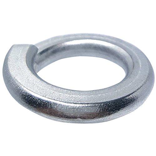 1/2'' Medium Split Lock Washers, Stainless Steel 18-8, Plain Finish, Quantity 50 by Fastenere (Image #3)