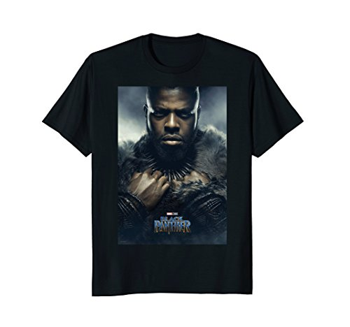 Marvel Black Panther Mbaku Character Movie Poster T Shirt