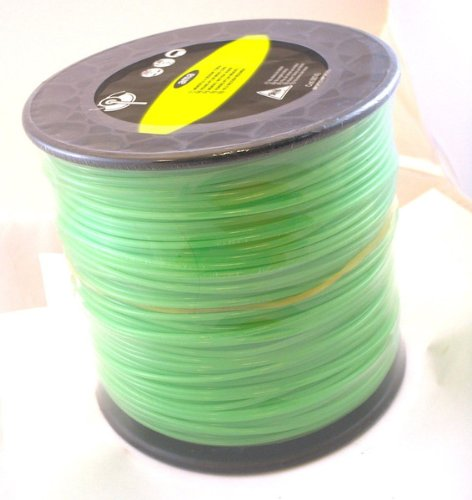Large Nylon Trimmer Line Spool, Round .112'' by AgristoreUSA
