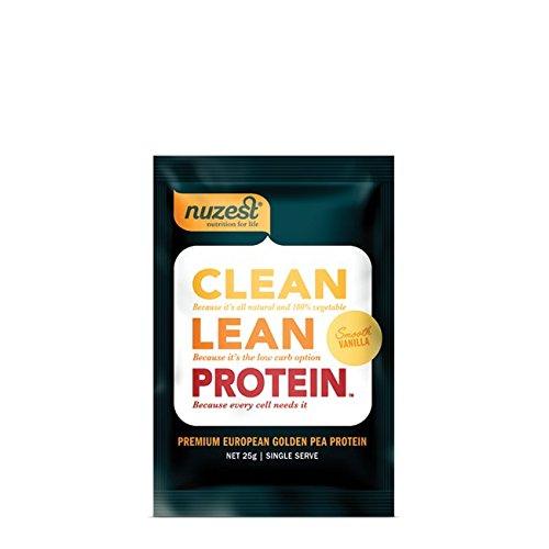 Nuzest Clean Lean Protein - Premium Pea Protein Powder, Plant-based, Vegan, Dairy Free, Gluten Free, GMO Free, Naturally Sweetened, Smooth Vanilla, Sample Size