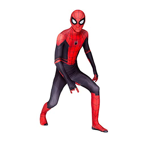 Spider-Man: Far from Home Kids Bodysuit Spiderman Superhero Costumes Lycra Spandex Halloween Cosplay Costumes