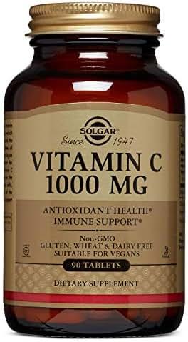 Solgar - Vitamin C, 1000 Mg, 90 Tablets