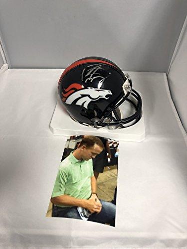 Manning Autographed Broncos Steiner Hologram