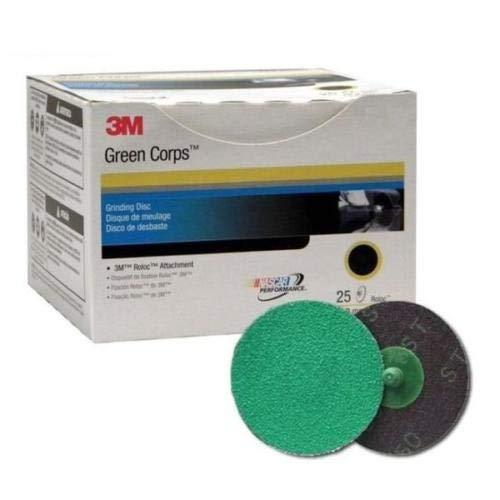 3M 01396 Green Corps Roloc Disc