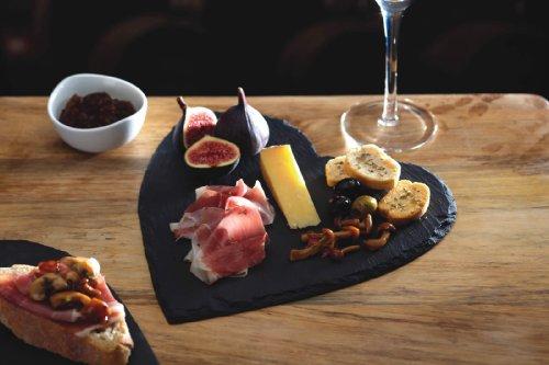 Piatti Cucina In Ardesia : Platters slate mini wave piatto da portata in ardesia