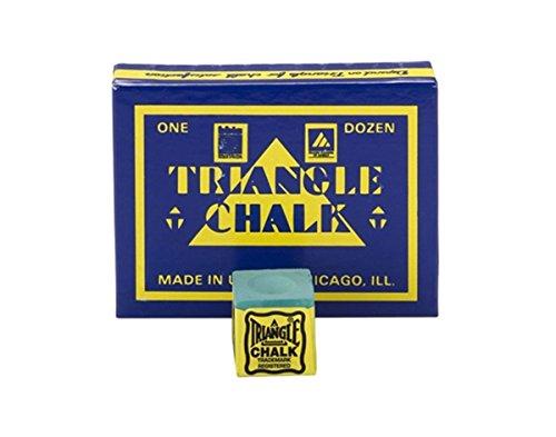 Triangle Chalk- (Box of 12) - Green