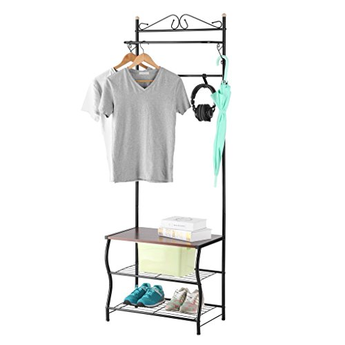 LANGRIA Entryway Garment Storage 3 Tiers product image