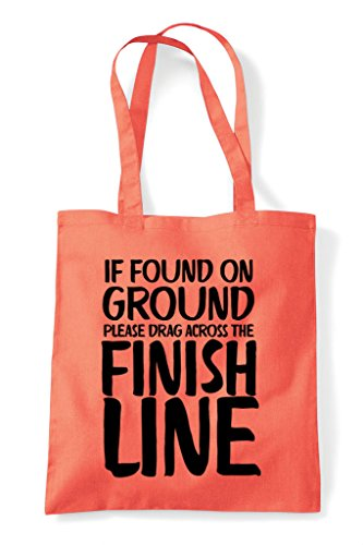 Shopper Tote Across Coral Line Bag Found Please The On Finish Ground Drag If q1X7PzwU