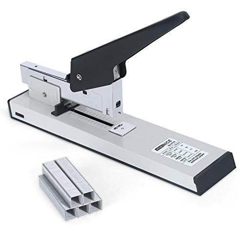 - WoneNice Heavy Duty Stapler with 1000 Staples, Reduced Effort, 100 Sheets High Capacity Desktop Stapler, White
