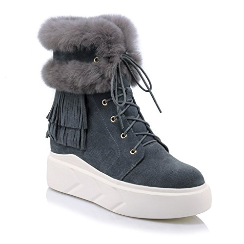fur invisible increase 's rounded 160cm thick 90 warm Women boots NSXZ snow plus one bottom 0pfxqTww