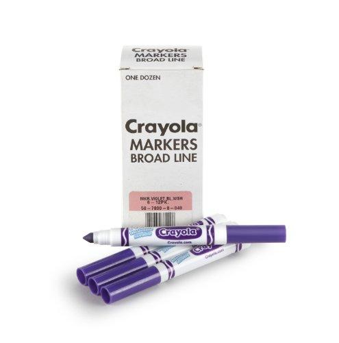 Crayola Washable Markers Violet Purple